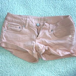 Pale Pink American Eagle Shorts